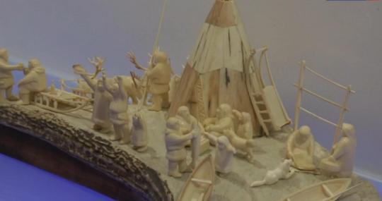 Выставка о культуре и истории Арктики