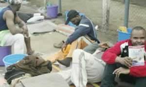 Nigerians waiting for deportation