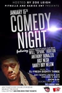 chicago comedy night