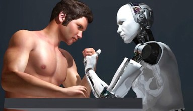 human-robot-competition-Shutterstock