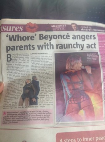 whore-beyonce-smh-newspaper