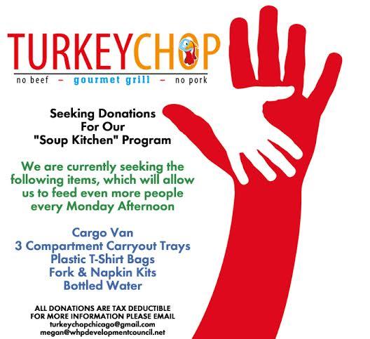 donate turkey chop