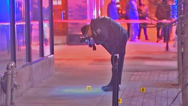 shooting on chicago northside