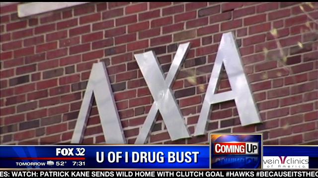 MASSIVE DRUG BUST LINKED TO U OF I FRAT HOUSE