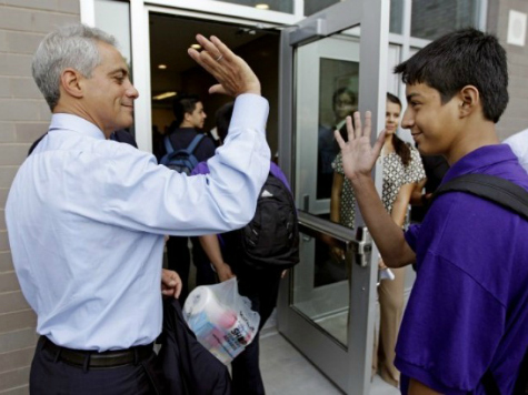 Chicago Mayor Rahm Emanuel Announces City Jobs, Internships Will Go to Illegal Aliens