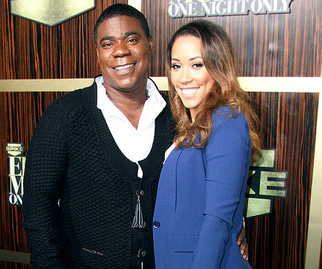 TRACY AND FIANCE