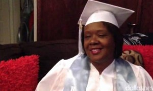 Mom Graduates From High School 20 Years Later With Teen's Help