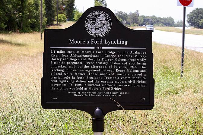 Moore's Ford Lynching