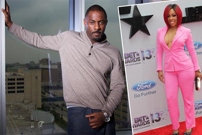 K mIchelle &  Idris Elba