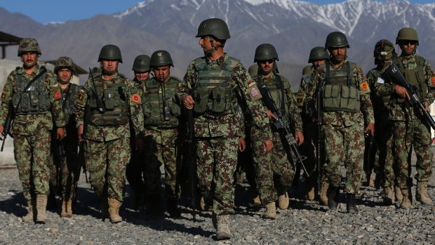 Missing Afghan Soldiers Caught Trying to Enter Canada