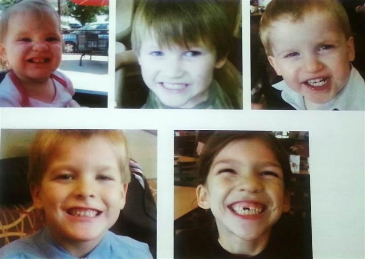 father kills five kids