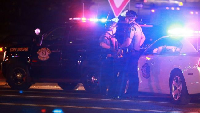 Police Are Looking For A Suspect In Ferguson St. Louis Who Allegedly Shot One Of Their Own