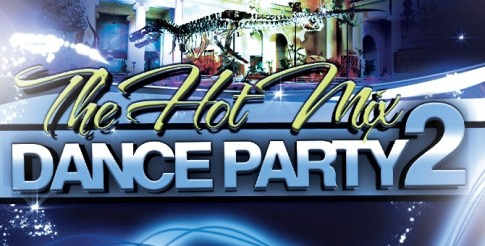 hot mis dance party flyer