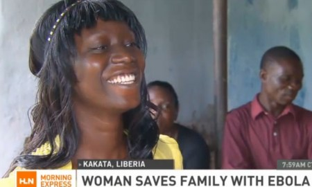 African Woman Saves Three Out Of Four Relatives From Ebola