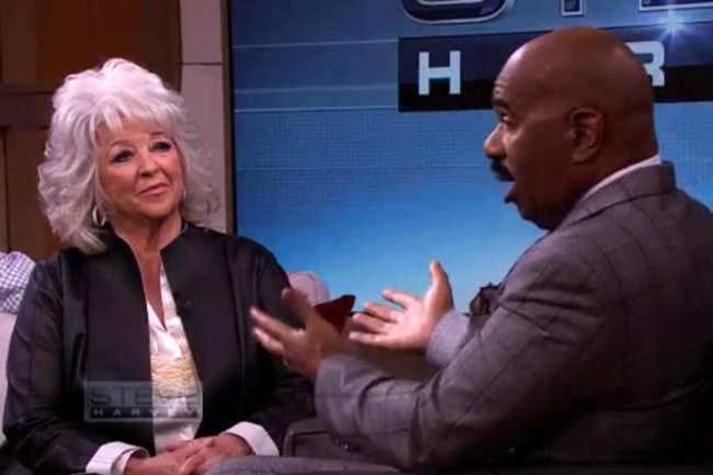 Paula Deen and Steve Harvey Are Teaming Up for a Youth-Mentoring Program