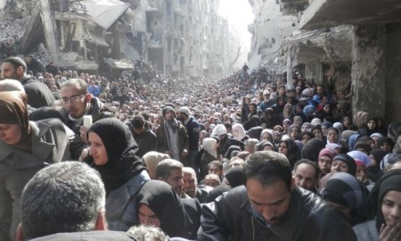 Syria: UN relief operation delivers food assistance to record number of people