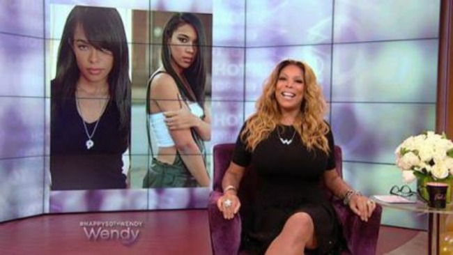 """Wendy Williams Responds To Backlash From Aaliyah Movie On Hot Topics : """"It Was The Second Highest Rated Movie On Cable TV!""""!!"""