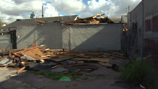 Rare Tornado Pounds South Los Angeles Neighborhood With Damaging Winds