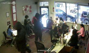 VIDEO: Gunmen target crowded nail salon in southwest Detroit