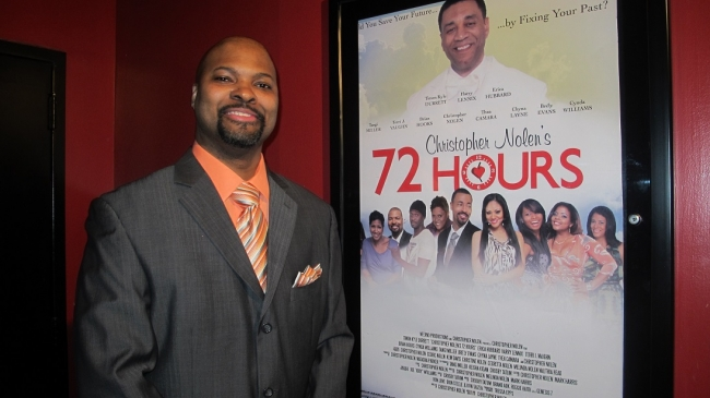 "Chicago Mover & Shaker:  Christopher Nolen's Movie Premier ""72 Hours"" Hits Chicago & Milwaukee Opens 2-13-2015"