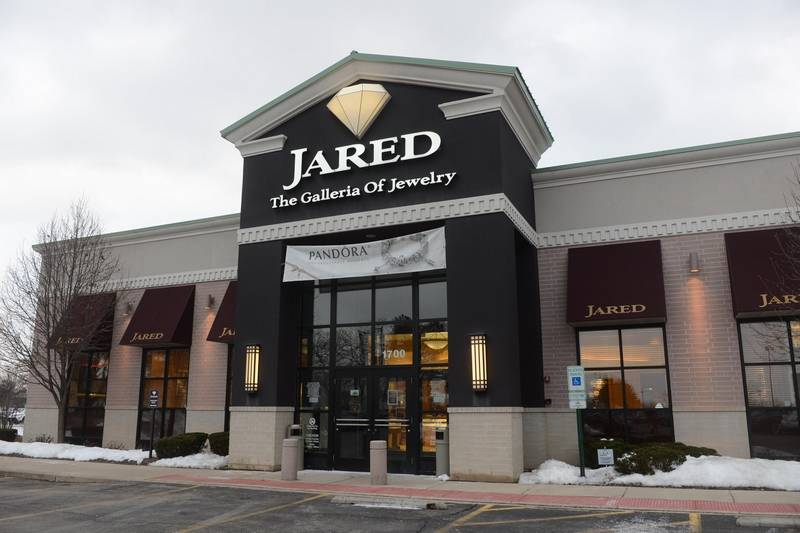 WOWThey Went To Jared Smash Grab Thieves Hit Woodfield Jared