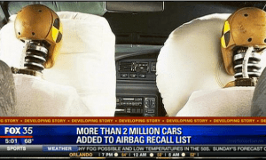 recalled cars
