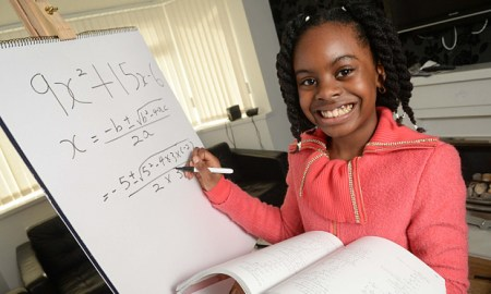 10 Year Old Math Prodigy Esther Okade Is UK's Youngest University Student