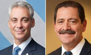NEW POLL SHOWS EMANUEL WITH SOLID LEAD OVER GARCIA [VIDEO]