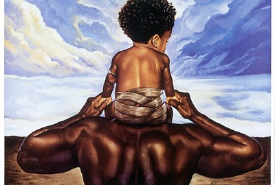 black-father-and-son