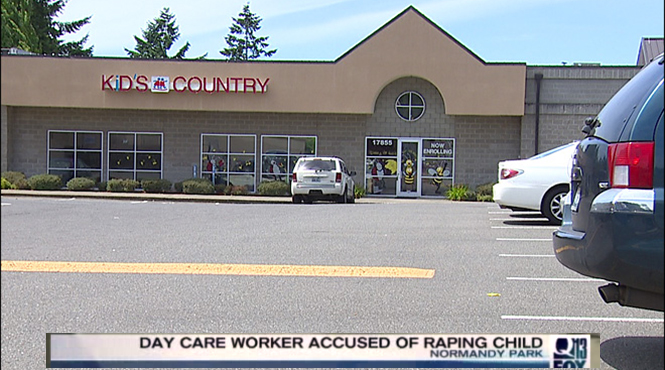 A Daycare Worker Busted Raping A 5- Year Old Girl Then Claims He Accidentally Raped Her During A Tickle Fight