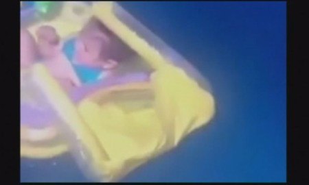 International News: Parents Forget 10-Month Old Baby In Inflatable Crib & She Floats Out To Sea