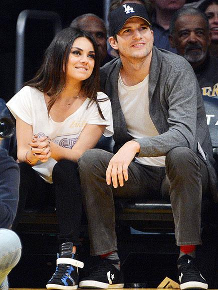 mila Kunis Ashton Kutcher