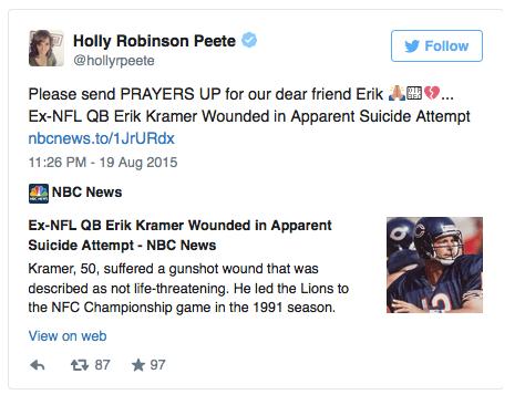 holly robinson tweet