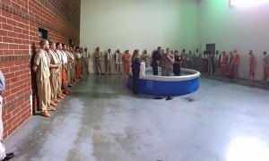 baptism in jail