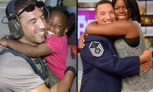 Air Force saving reunion
