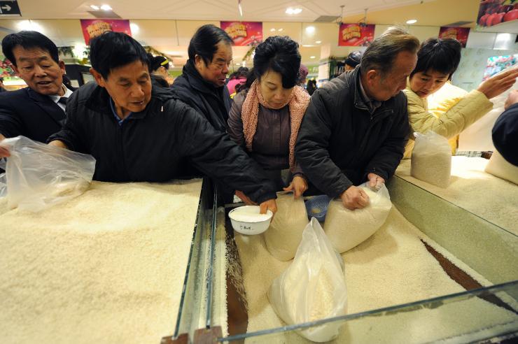 how to make fake rice in china