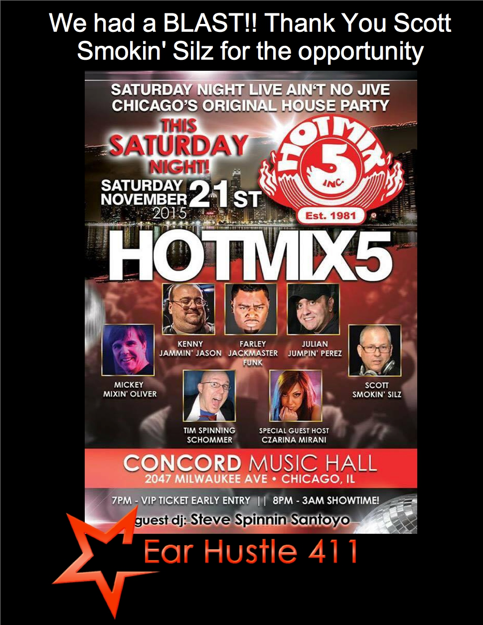 Hot mix 5 flyer