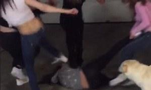 alaska girl fight