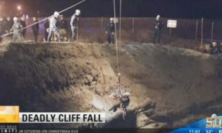 Man Distracted While Talking On Cell Phone Accidentally Walks Off 60 Foot Cliff To His Death