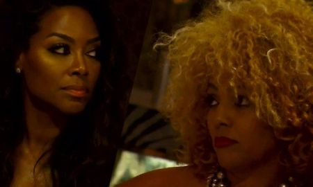 Kenya Moore Says Kim Fields Is Not A Good Fit For RHOA & Is There For A Check She Also Says NeNe Leakes Is A Backstabber