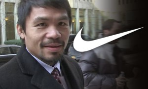 "Nike Terminates Contract With Manny Pacquiao For What They Call His Repugnant Comments About Gays, Calls Them ""Worse Than Animals"""