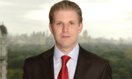 An Envelope With A White Powdery Substance & Threatening Note Sent To Eric Trump