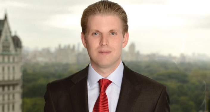 An Envelope With White Substance & Threatening Note Sent To Eric Trump