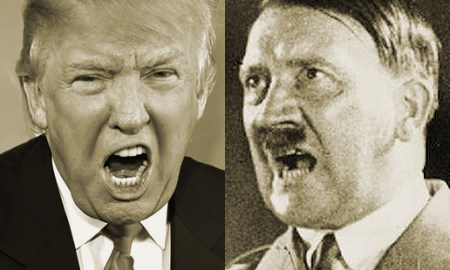 DONALD TRUMP AND THE HITLER COMPARISON A FREE WHITE MAN!