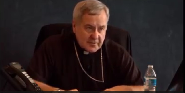 Catholic Archbishop Openly Says He Didn't know It Was A Crime For Priests To Have Sex With Children  [ Video]