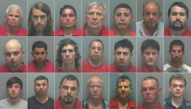 21 Men In Florida Busted In Online Child Pornography Sex Sting