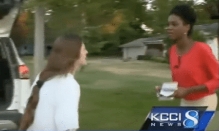TV Reporter attacked