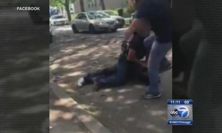 chicago man kicked in the head