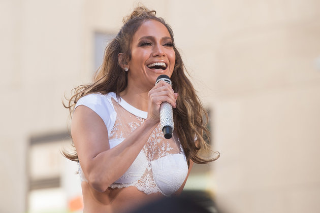 "Jennifer Lopez performs on NBC's ""Today"" show at Rockefeller Plaza on Monday, July 11, 2016, in New York. (Photo by Charles Sykes/Invision/AP)"