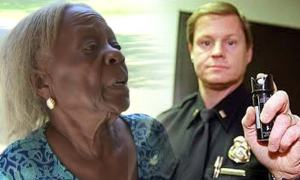 Police Kicked In 84- Year Old Womans Door, Pepper Sprayed Her, Tasered Her Son All Over A Traffic Violation [Video]